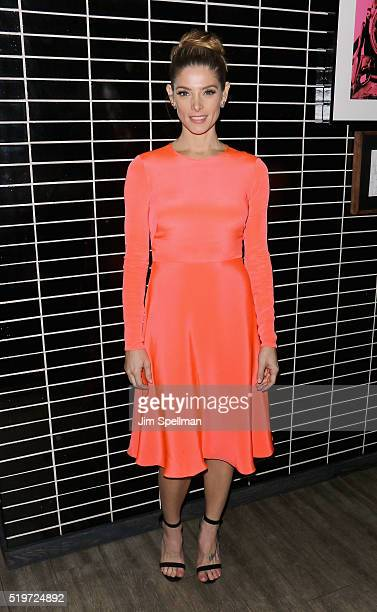 Actress Ashley Greene attends 'The Jungle Book' hosted by Disney with the Cinema Society Samsung screening after party at The Skylark on April 7 2016...