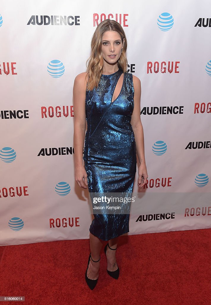 Actress <a gi-track='captionPersonalityLinkClicked' href=/galleries/search?phrase=Ashley+Greene&family=editorial&specificpeople=781552 ng-click='$event.stopPropagation()'>Ashley Greene</a> attends the premiere of DirecTV's 'Rogue' at The London Hotel on March 16, 2016 in West Hollywood, California.