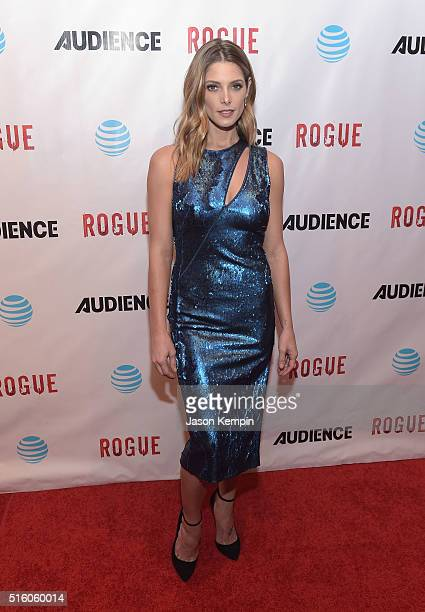 Actress Ashley Greene attends the premiere of DirecTV's 'Rogue' at The London Hotel on March 16 2016 in West Hollywood California