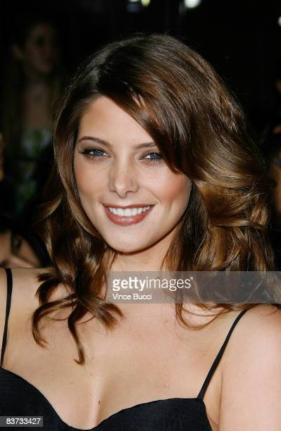 Actress Ashley Greene attends the premiere of Summit Entertainment's 'Twilight' at The Mann Village and Bruin Theatres on November 17 2008 in...