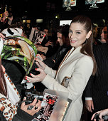Actress Ashley Greene attends the premiere of 'The Twilight Saga ÊBreaking Dawn Part 1' at the Winter Garden Theatre on November 17 2011 in Toronto...