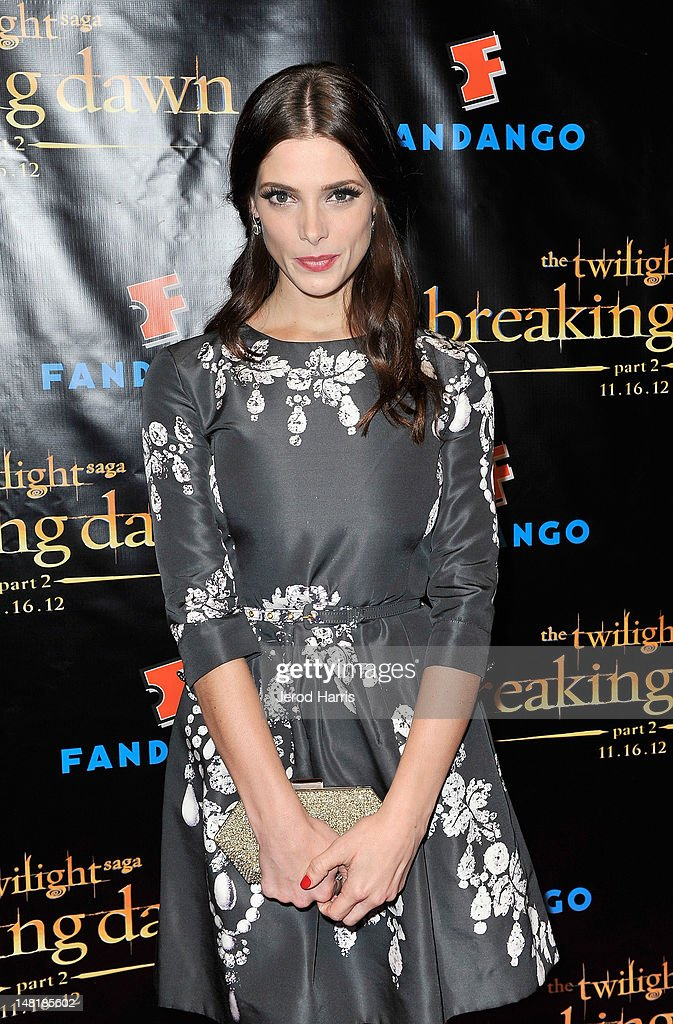 Actress <a gi-track='captionPersonalityLinkClicked' href=/galleries/search?phrase=Ashley+Greene&family=editorial&specificpeople=781552 ng-click='$event.stopPropagation()'>Ashley Greene</a> attends 'The Twilight Saga: Breaking Dawn Part 2' VIP Comic-Con Celebration Sponsored by Fandango at Float in the Hard Rock Hotel on July 11, 2012 in San Diego, California.