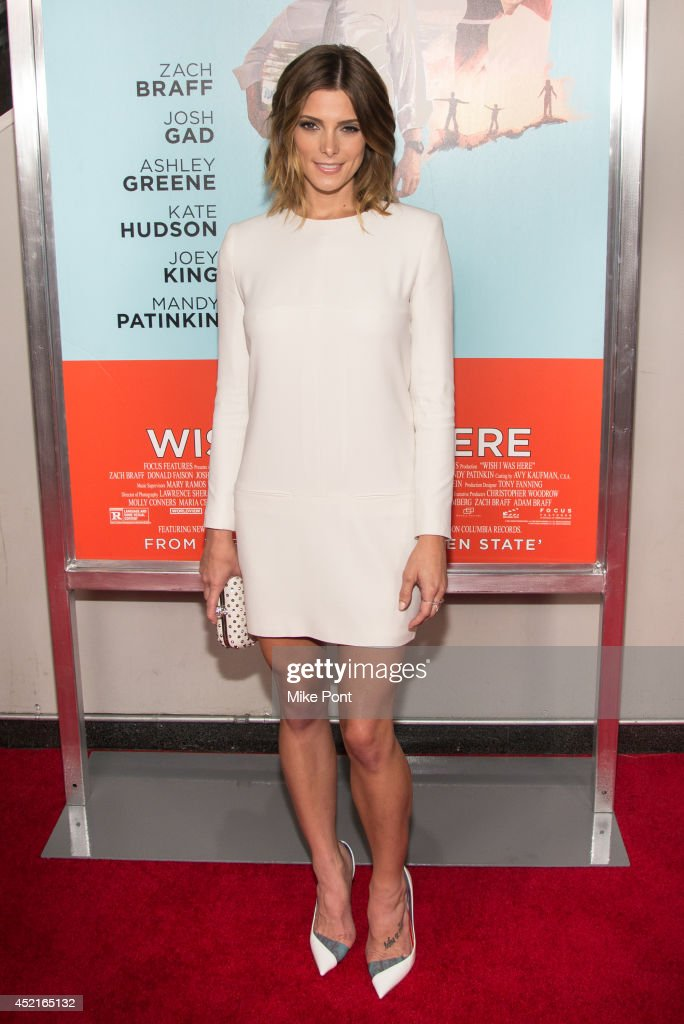 Actress Ashley Greene attends the 'Wish I Was Here' screening at AMC Lincoln Square Theater on July 14 2014 in New York City