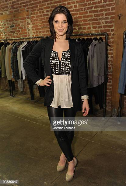 Actress Ashley Greene attends Todd DiCiurcio Heartstrings Hosted By Ed Westwick At Confederacy And Sponsored By RagBone at Confederacy on October 24...