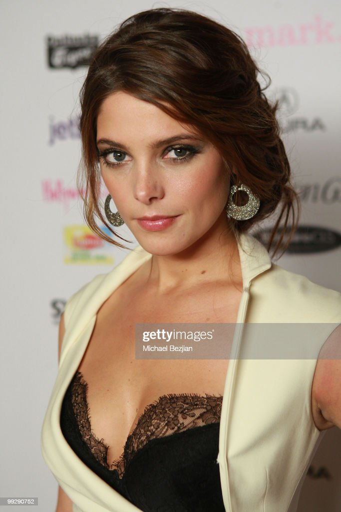 Actress AShley Greene backstage during the 12th annual Young Hollywood Awards sponsored by JC Penney , Mark. & Lipton Sparkling Green Tea held at the Ebell of Los Angeles on May 13, 2010 in Los Angeles, California.