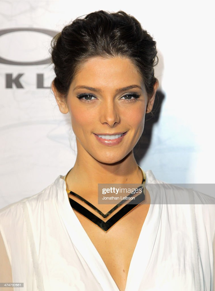 Actress <a gi-track='captionPersonalityLinkClicked' href=/galleries/search?phrase=Ashley+Greene&family=editorial&specificpeople=781552 ng-click='$event.stopPropagation()'>Ashley Greene</a> celebrates the past, present and future of Oakley's design and technology at the brand's 'Disruptive by Design' global campaign launch event at RED Studios on February 24, 2014 in Los Angeles, California.