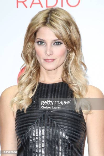Actress Ashley Greene poses in the iHeartRadio music festival photo room on September 20 2013 in Las Vegas Nevada