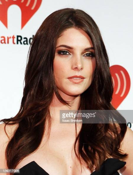 Actress Ashley Greene poses in the press room at the iHeartRadio Music Festival held at the MGM Grand Garden Arena on September 24 2011 in Las Vegas...