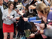 Actress Ashley Greene signs autographs at the 'Twilight' fan party at EWerk on June 6 2009 in Berlin Germany