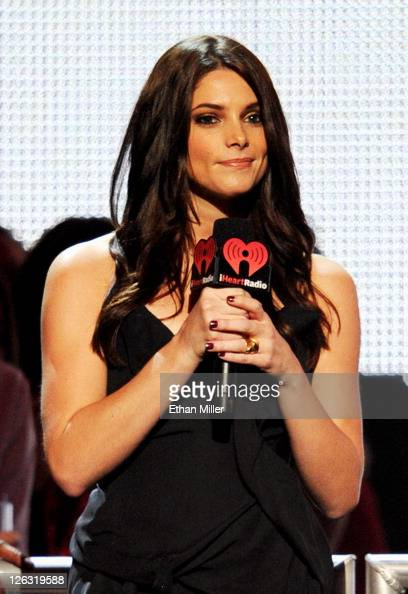 Actress Ashley Greene speaks onstage at the iHeartRadio Music Festival held at the MGM Grand Garden Arena on September 24 2011 in Las Vegas Nevada