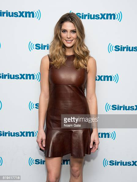 Actress Ashley Greene visits the SiriusXM Studios on April 6 2016 in New York City