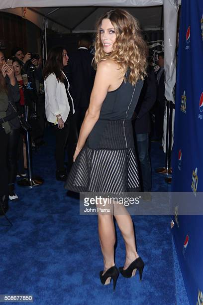 Actress Ashley Greene walks the Blue Carpet at the 2015 Pepsi Rookie of the Year Award Ceremony at Pepsi Super Friday Night at Pier 70 on February 5...