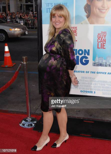 Actress Ashley Jensen arrives at the Los Angeles Premiere 'The Invention Of Lying' at Grauman's Chinese Theatre on September 21 2009 in Hollywood...