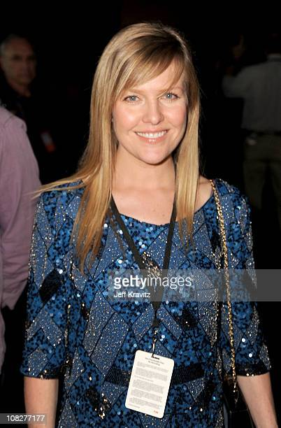 Actress Ashley Jensen attends the Los Angeles premiere of 'Gnomeo and Juliet' after party at the The Highlands on January 23 2011 in Hollywood...