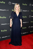 Actress Ashley Johnson attends PaleyLive NY An Evening With The Cast Creator Of 'Blindspot' at The Paley Center for Media on April 11 2016 in New...