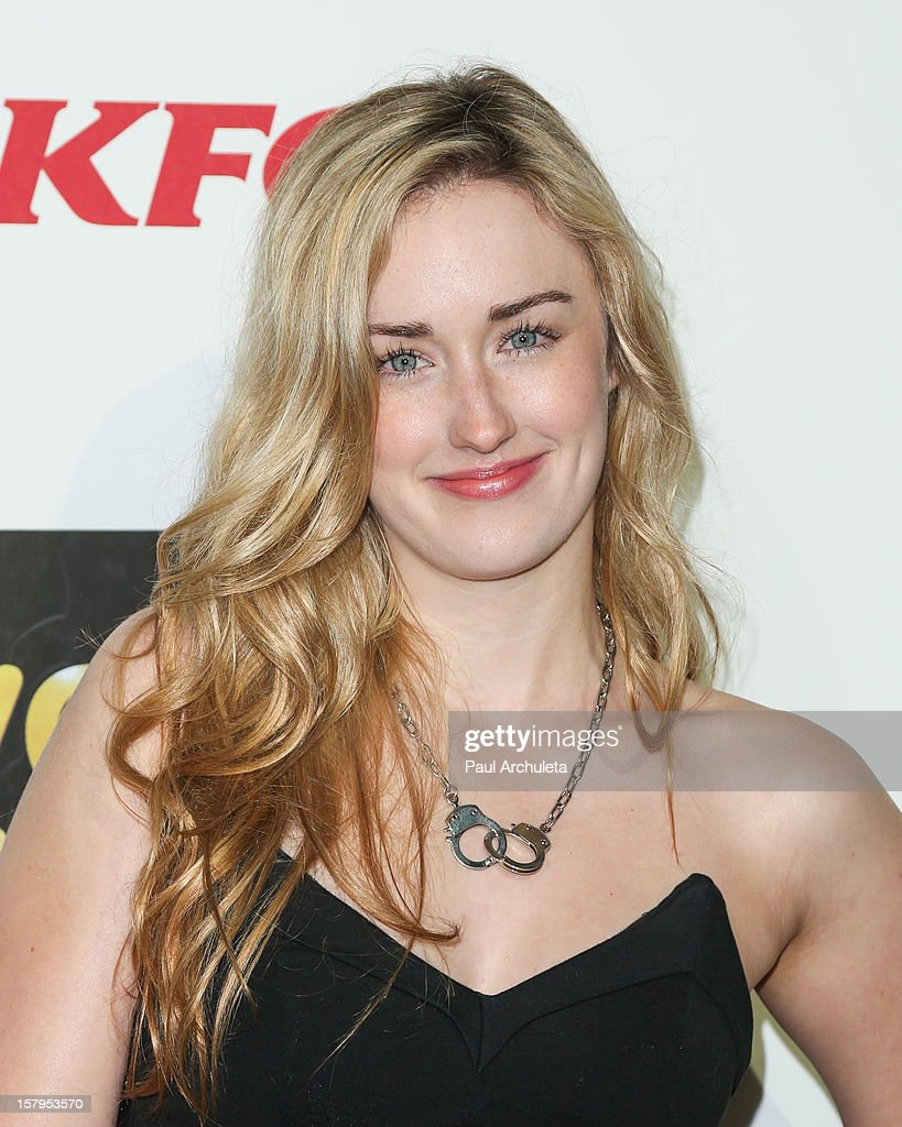 Actress Ashley Johnson attends Spike TV's 10th Annual Video Game Awards at Sony Pictures Studios on December 7, 2012 in Culver City, California.