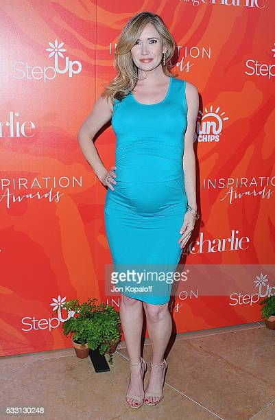 Actress Ashley Jones arrives at Step Up's 13th Annual Inspiration Awards at The Beverly Hilton Hotel on May 20 2016 in Beverly Hills California