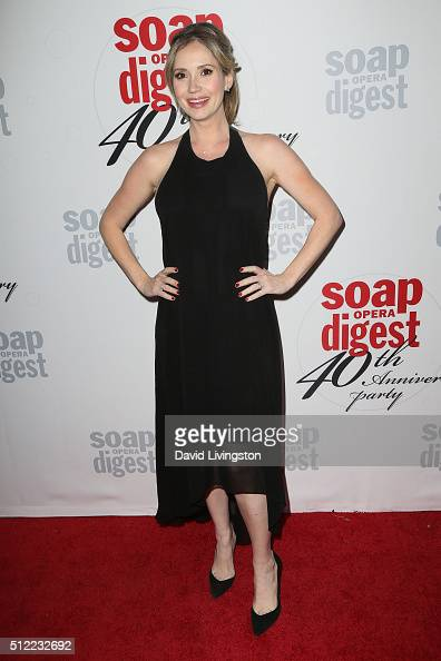 Actress Ashley Jones arrives at the 40th Anniversary of the Soap Opera Digest at The Argyle on February 24 2016 in Hollywood California