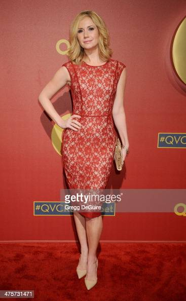 Actress Ashley Jones arrives at the QVC 5th Annual Red Carpet Style event at The Four Seasons Hotel on February 28 2014 in Beverly Hills California