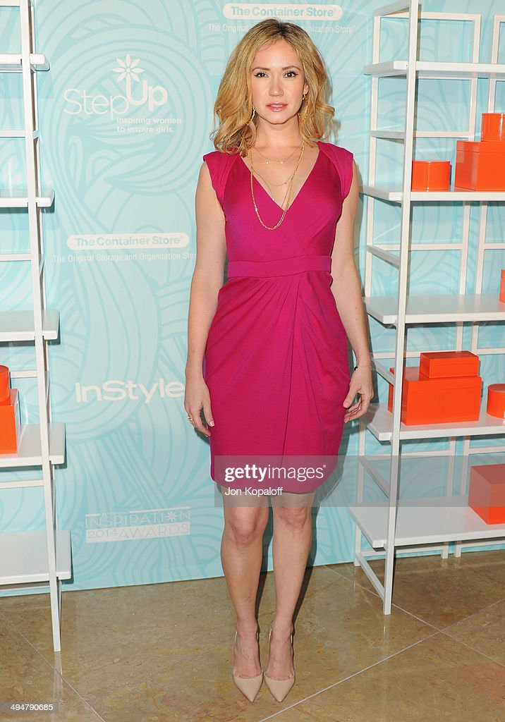 Actress Ashley Jones arrives at the Step Up 11th Annual Inspiration Awards at The Beverly Hilton Hotel on May 30, 2014 in Beverly Hills, California.