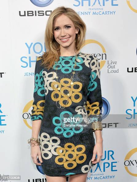 Actress Ashley Jones arrives at the Ubisoft and Oxygen YOUR SHAPE fitness game launch event featuring Jenny McCarthy at Hyde Lounge on December 2...