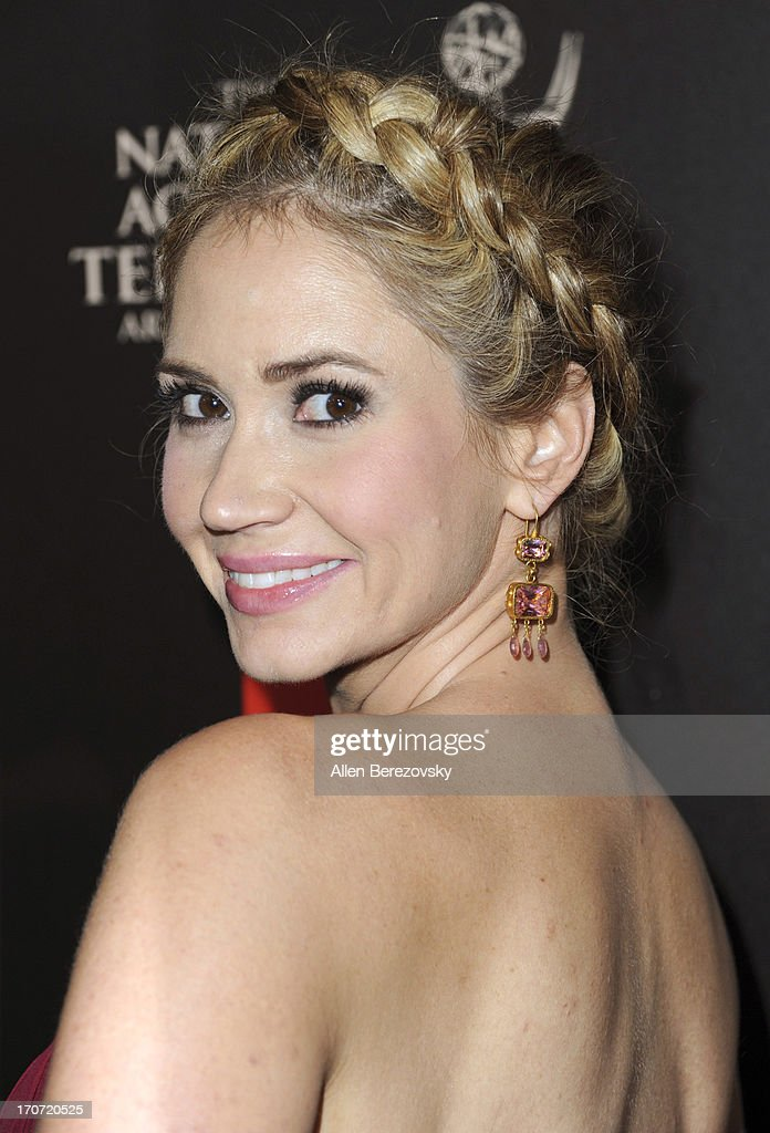 Actress Ashley Jones attends 40th Annual Daytime Entertaimment Emmy Awards - Arrivals at The Beverly Hilton Hotel on June 16, 2013 in Beverly Hills, California.