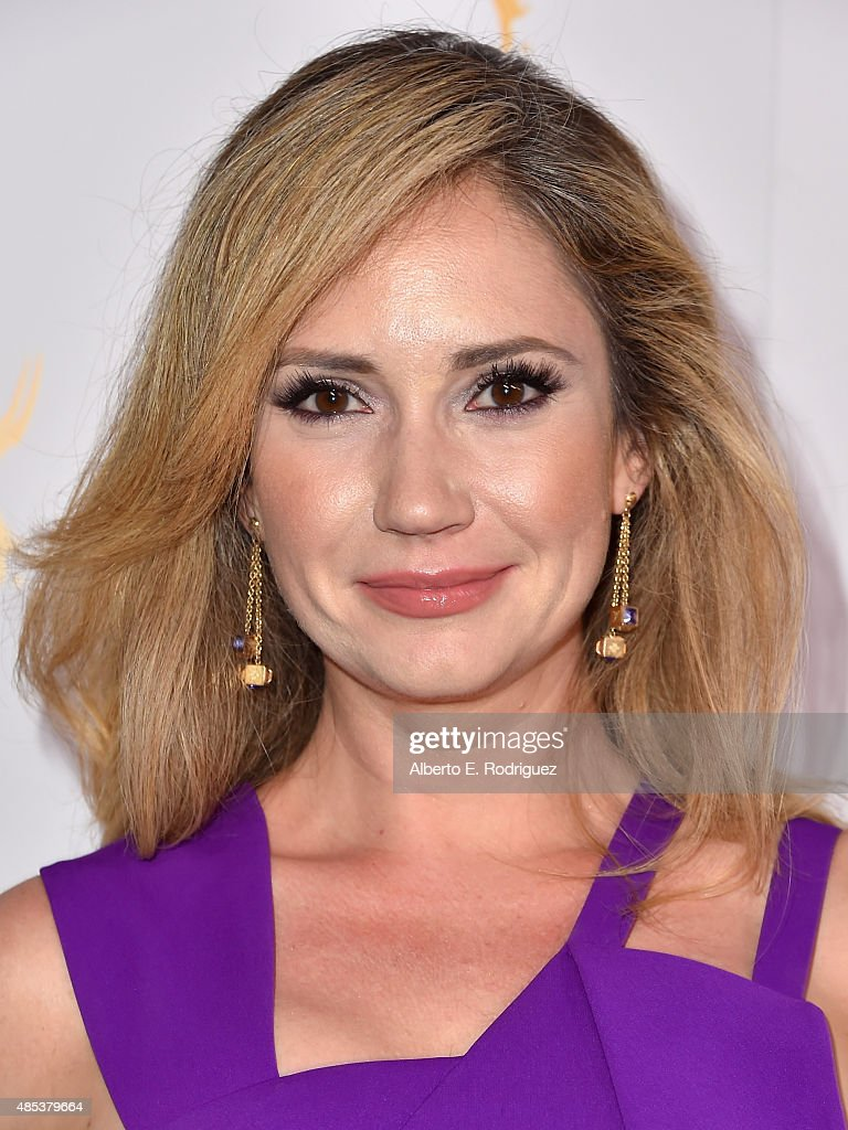 Actress <a gi-track='captionPersonalityLinkClicked' href=/galleries/search?phrase=Ashley+Jones&family=editorial&specificpeople=226927 ng-click='$event.stopPropagation()'>Ashley Jones</a> attends a cocktail reception hosted by the Academy of Television Arts & Sciences celebrating the Daytime Peer Group at Montage Beverly Hills on August 26, 2015 in Beverly Hills, California.