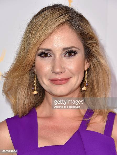Actress Ashley Jones attends a cocktail reception hosted by the Academy of Television Arts Sciences celebrating the Daytime Peer Group at Montage...