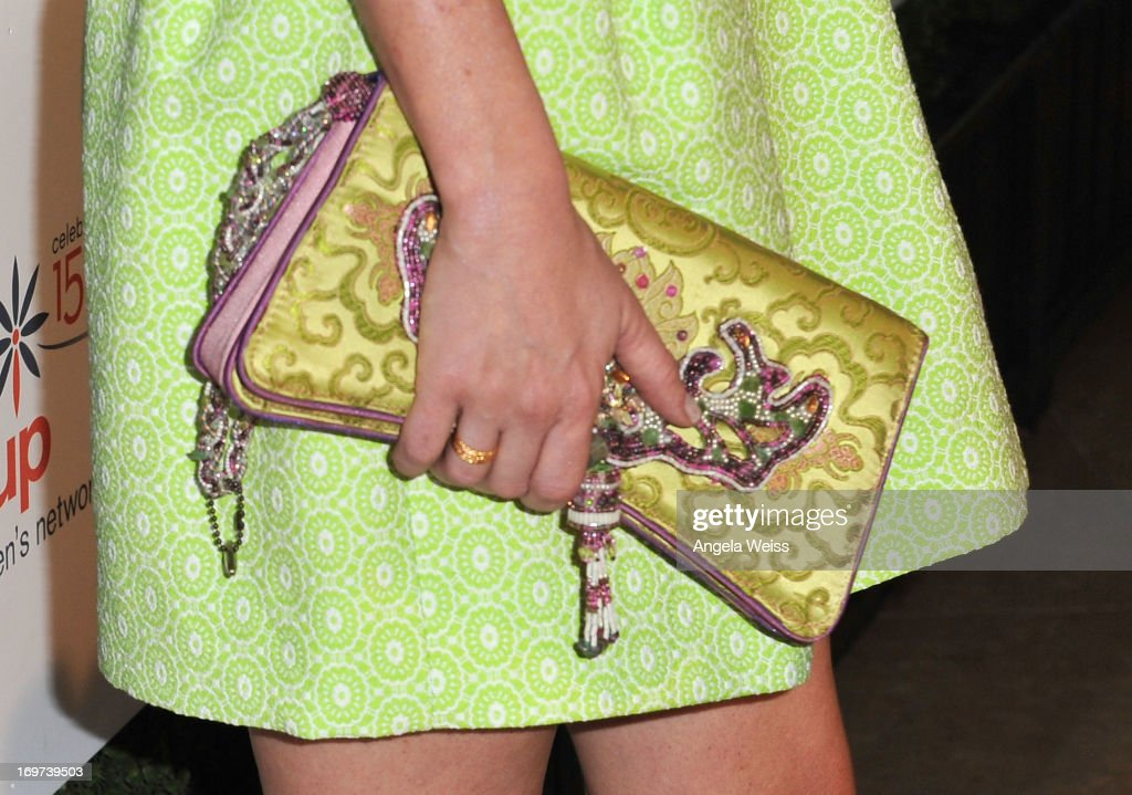 Actress Ashley Jones (purse detail) attends Step Up Women's Network 10th annual Inspiration Awards at The Beverly Hilton Hotel on May 31, 2013 in Beverly Hills, California.
