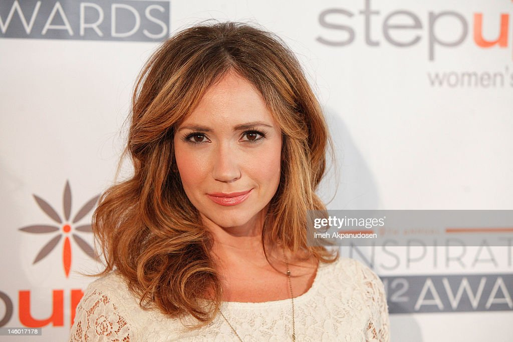Actress Ashley Jones attends Step Up Women's Networks' 9th Annual Inspiration Awards at The Beverly Hilton Hotel on June 8, 2012 in Beverly Hills, California.