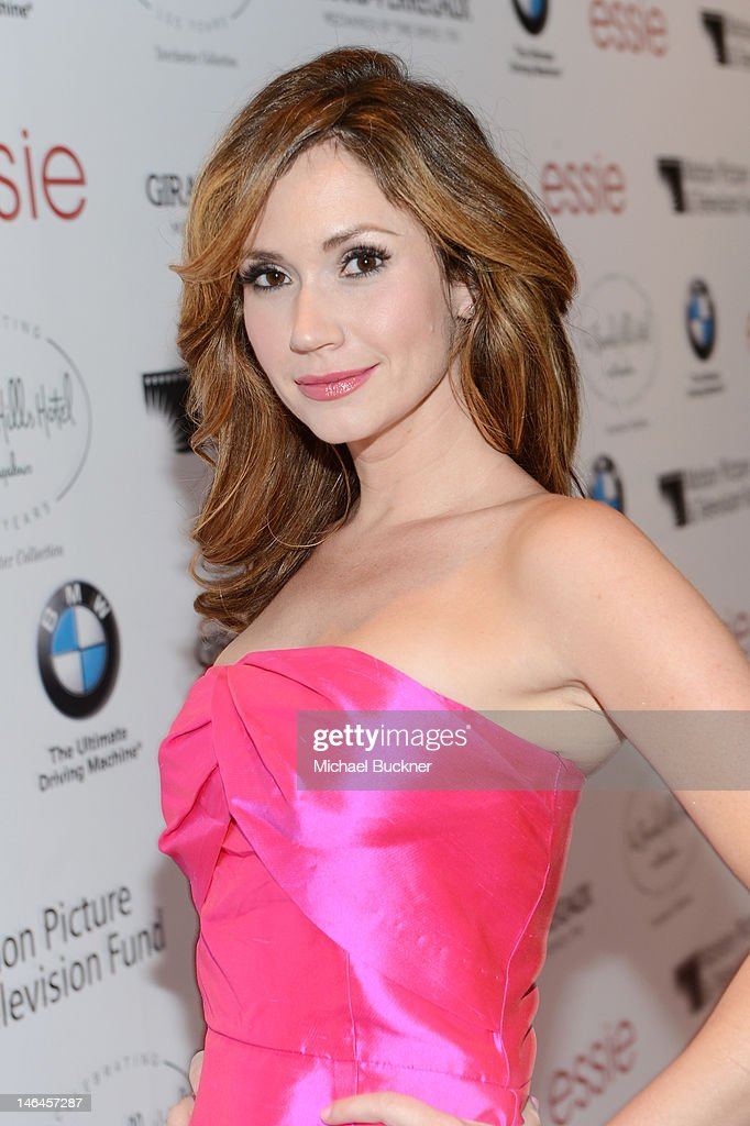 Actress Ashley Jones attends the 100th anniversary celebration of the Beverly Hills Hotel & Bungalows supporting the Motion Picture & Television Fund and the American Comedy Fund hosted by Brett Ratner and Warren Beatty at Beverly Hills Hotel on June 16, 2012 in Beverly Hills, California.
