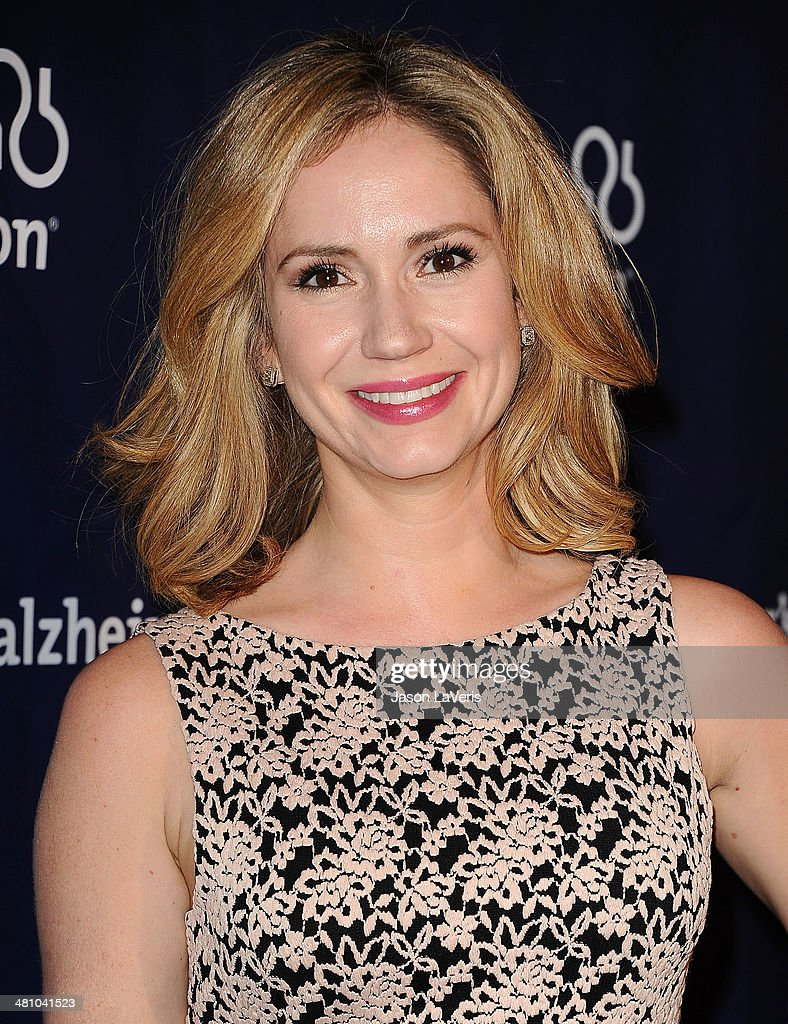 Actress Ashley Jones attends the 22nd 'A Night At Sardi's' at The Beverly Hilton Hotel on March 26, 2014 in Beverly Hills, California.
