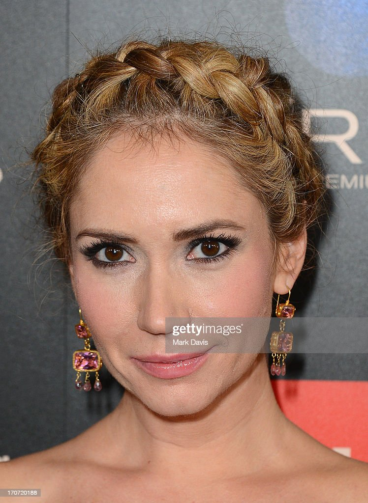 Actress Ashley Jones attends The 40th Annual Daytime Emmy Awards at The Beverly Hilton Hotel on June 16, 2013 in Beverly Hills, California.