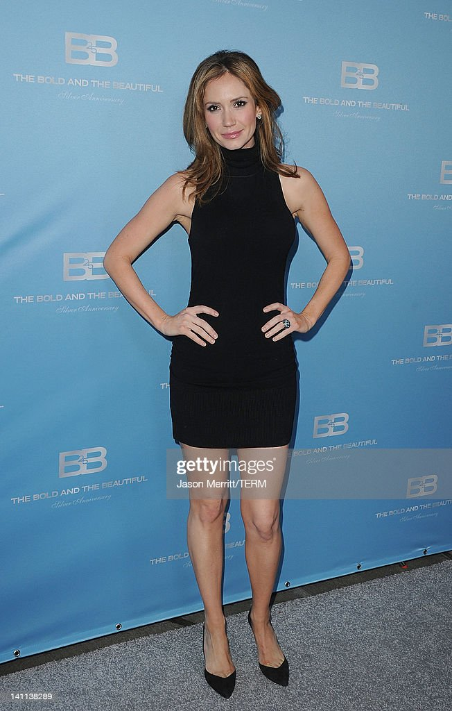 Actress Ashley Jones attends the 5th Silver Anniversary party for CBS' 'The Bold And The Beautifu on March 10, 2012 in Los Angeles, California.