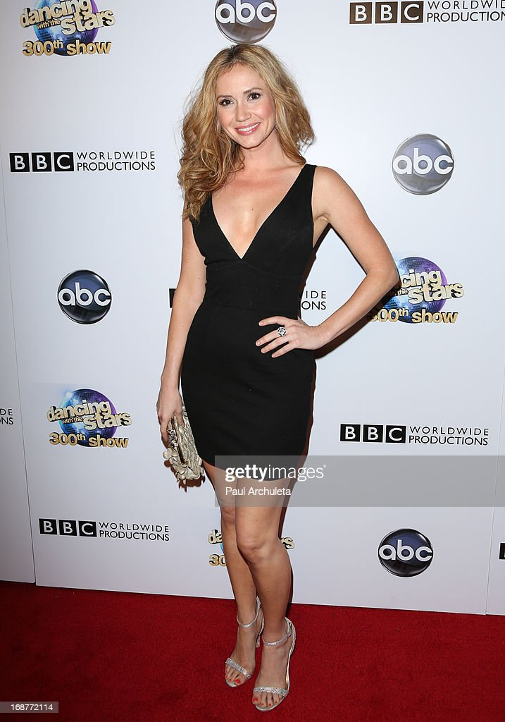 Actress Ashley Jones attends the 'Dancing With The Stars' 300th episode after party on May 14, 2013 in Los Angeles, California.