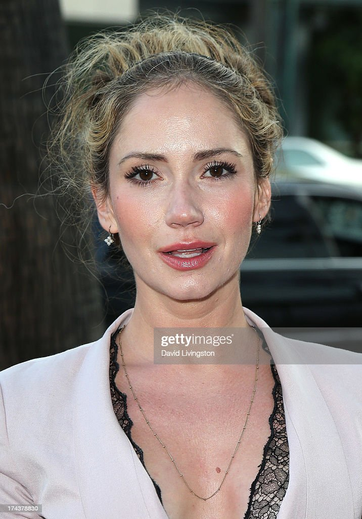 Actress Ashley Jones attends the premiere of 'Blue Jasmine' hosted by the AFI & Sony Picture Classics at the AMPAS Samuel Goldwyn Theater on July 24, 2013 in Beverly Hills, California.