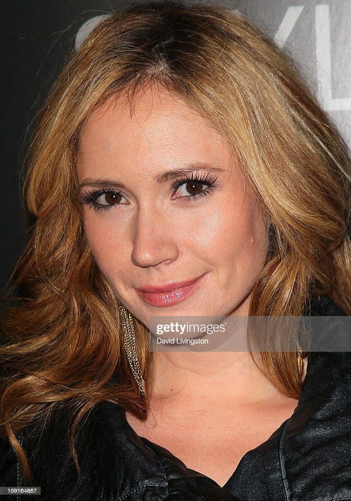 Actress Ashley Jones attends W Magazine and Guess celebrating 30 years of fashion and film and the next generation of style icons at Laurel Hardware on January 8, 2013 in West Hollywood, California.