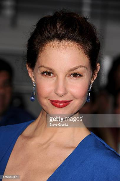 Actress Ashley Judd arrives at the premiere of Summit Entertainment's 'Divergent' at the Regency Bruin Theatre on March 18 2014 in Los Angeles...