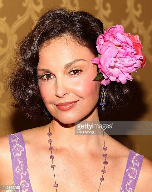 Actress Ashley Judd attends the 2012 International Center for Research on Women's Champions for Change gala at the RitzCarlton Hotel on May 23 2012...
