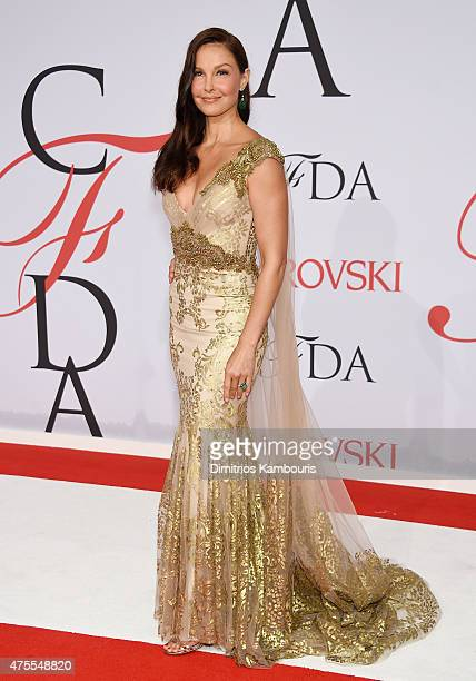 Actress Ashley Judd attends the 2015 CFDA Fashion Awards at Alice Tully Hall at Lincoln Center on June 1 2015 in New York City