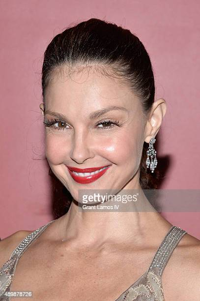 Actress Ashley Judd attends the 'Big Stone Gap' New York screening at Sunshine Landmark on September 24 2015 in New York City