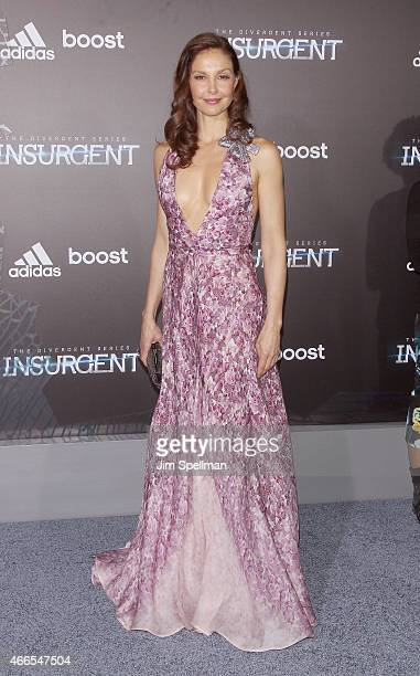 Actress Ashley Judd attends the 'The Divergent Series Insurgent' New York premiere at Ziegfeld Theater on March 16 2015 in New York City