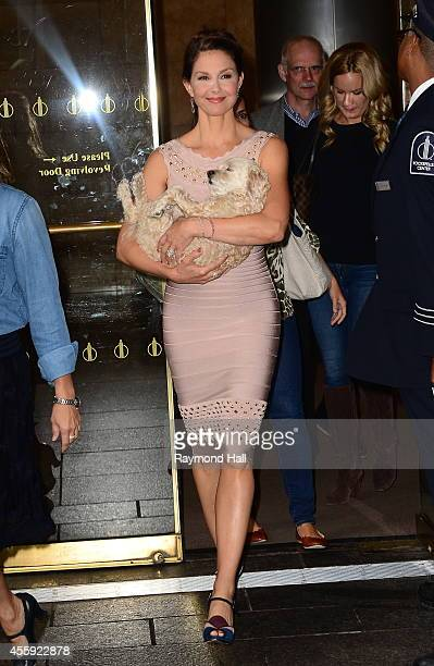 Actress Ashley Judd is seen outside 'NBC' on September 22 2014 in New York City