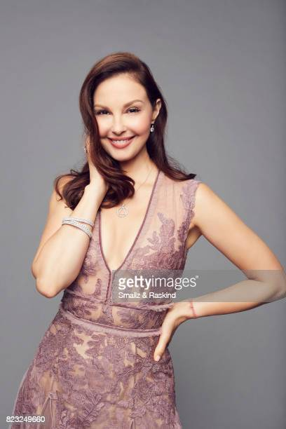 Actress Ashley Judd poses for portrait session at the 2017 Summer TCA session for EPIX's 'Berlin Station' on July 25 2017 in Beverly Hills California