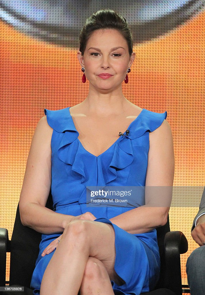 Actress Ashley Judd speaks during the 'Missing' panel during the ABC portion of the 2012 Winter TCA Tour held at The Langham Huntington Hotel and Spa on January 10, 2012 in Pasadena, California.