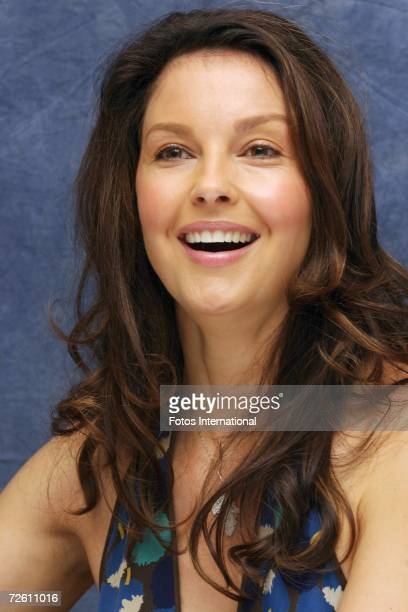 Actress Ashley Judd speaks with the media at the Four Seasons Hotel on November 10 2006 in Los Angeles California