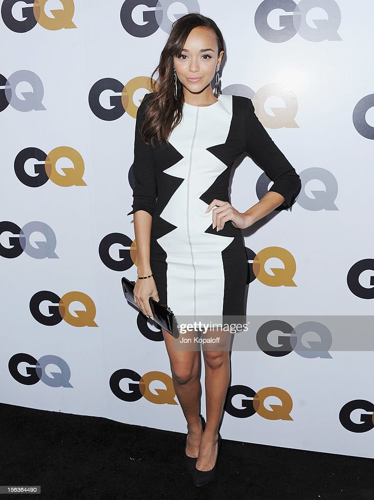 Actress Ashley Madekwe arrives at GQ Men Of The Year Party at Chateau Marmont on November 13, 2012 in Los Angeles, California.