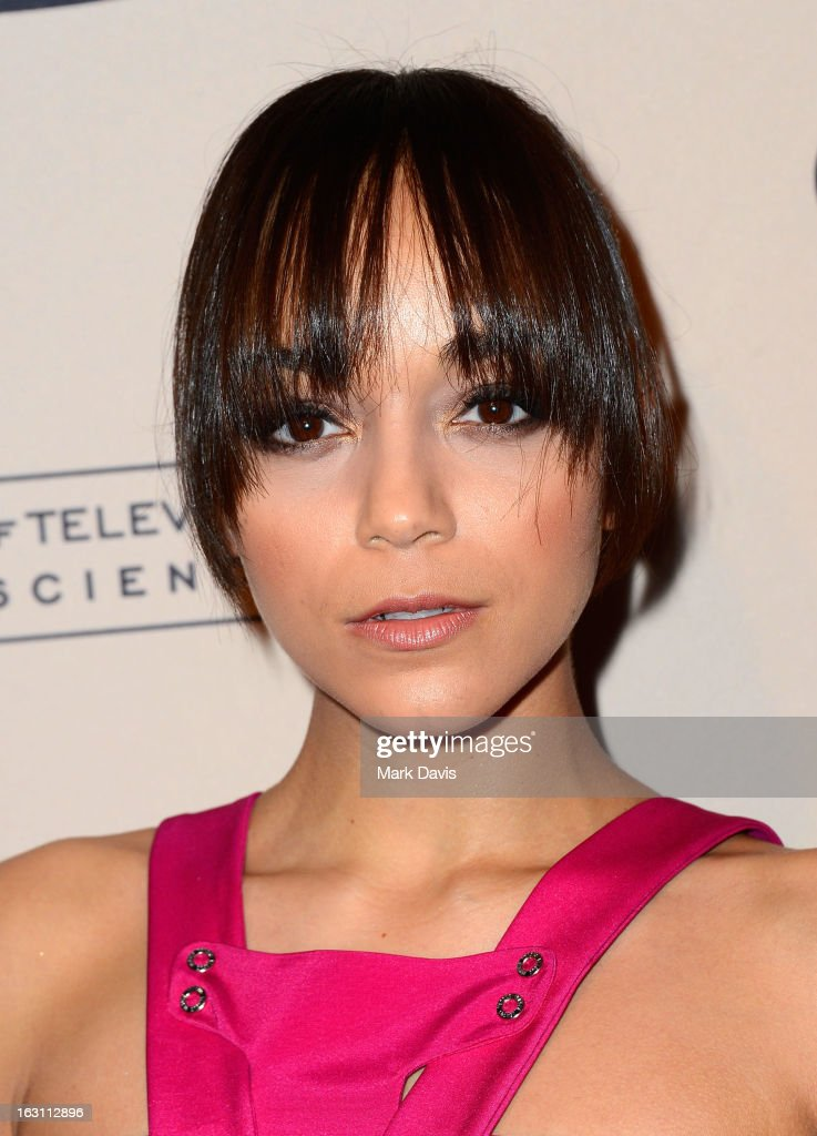 Actress Ashley Madekwe arrives at the Academy of Television Arts & Sciences Presents An Evening With 'Revenge' at the Leonard H. Goldenson Theater held at the Academy of Television Arts & Sciences on March 4, 2013 in North Hollywood, California.