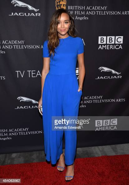 Actress Ashley Madekwe arrives at the BAFTA Los Angeles TV Tea presented by BBC and Jaguar at SLS Hotel on August 23 2014 in Beverly Hills California