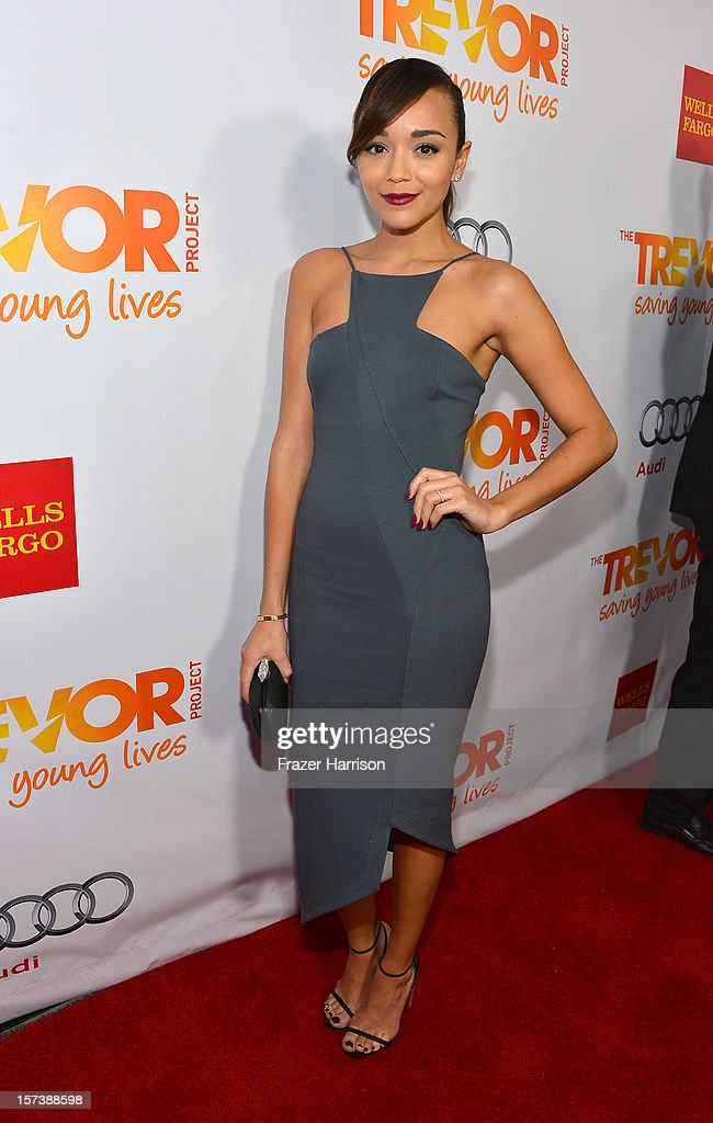 Actress Ashley Madekwe arrives at 'Trevor Live' honoring Katy Perry and Audi of America for The Trevor Project held at The Hollywood Palladium on December 2, 2012 in Los Angeles, California.